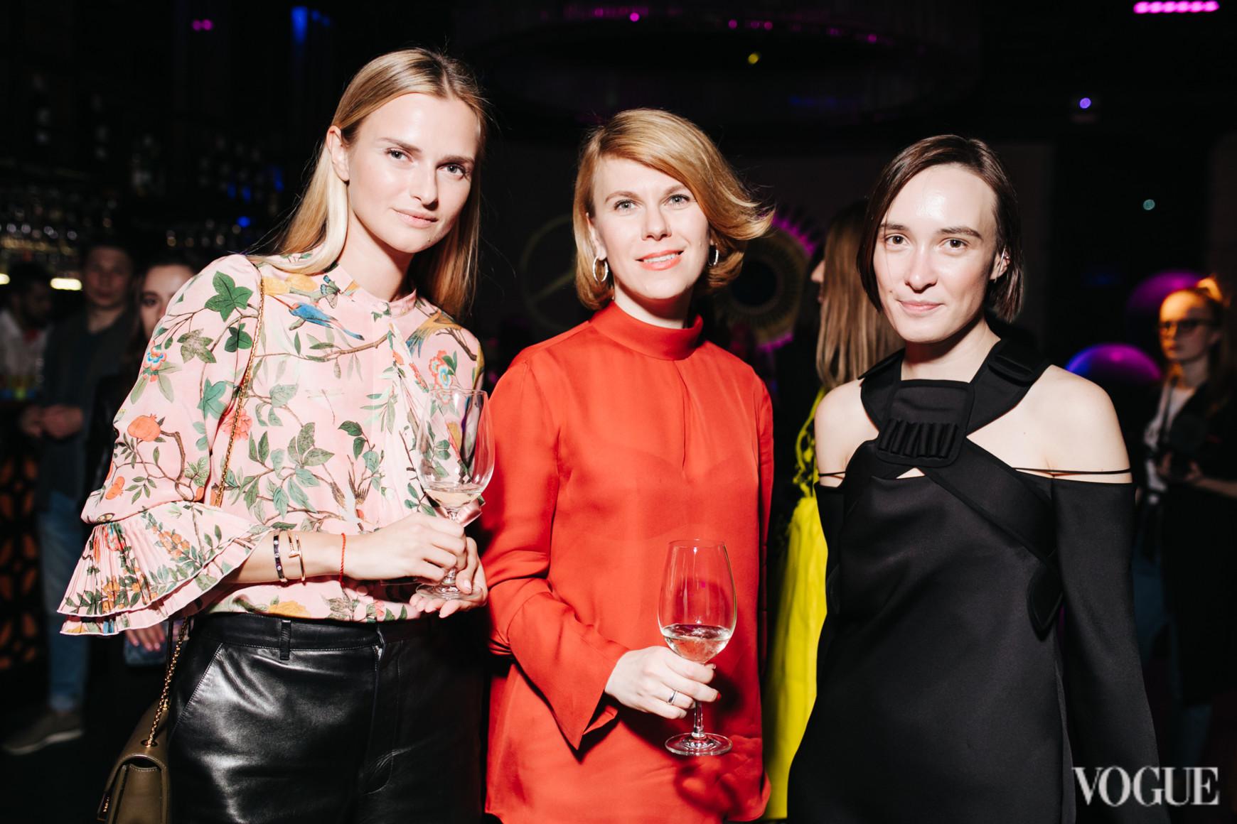 Анна Закусило, Наталья Листопад и Ольга Сушко