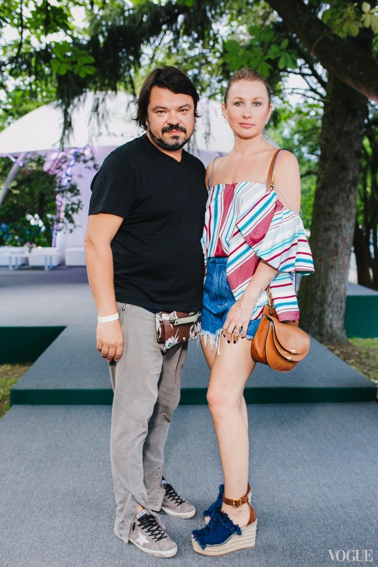 Ольга Козловская с мужем