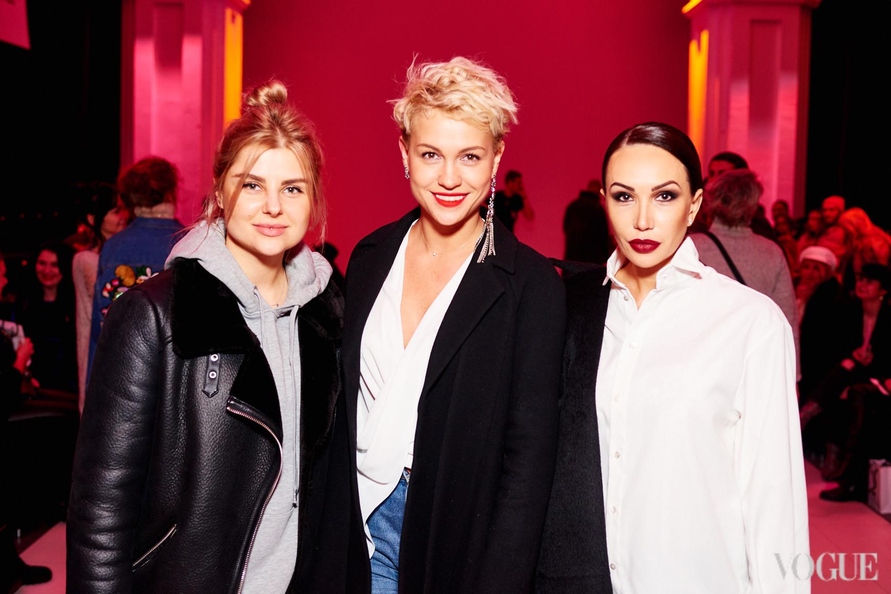 Лина Христофорова, Анна Лукашевич и Наталья Бровди