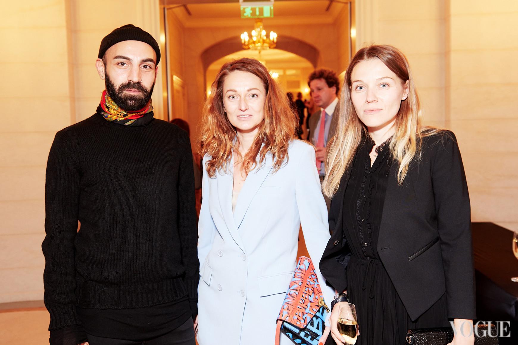 Лаша Мдинарадзе, Татьяна Деменкова и Ольга Басовская