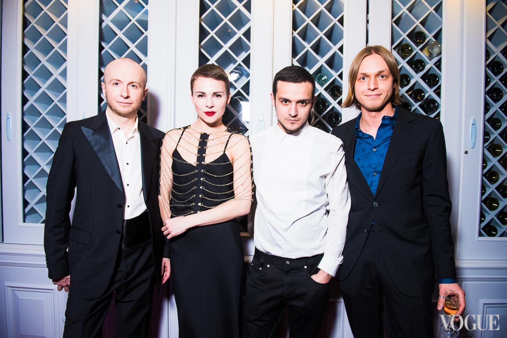 Евгений и Катя Березницкие, Али Саулиди и Евгений Примаченко