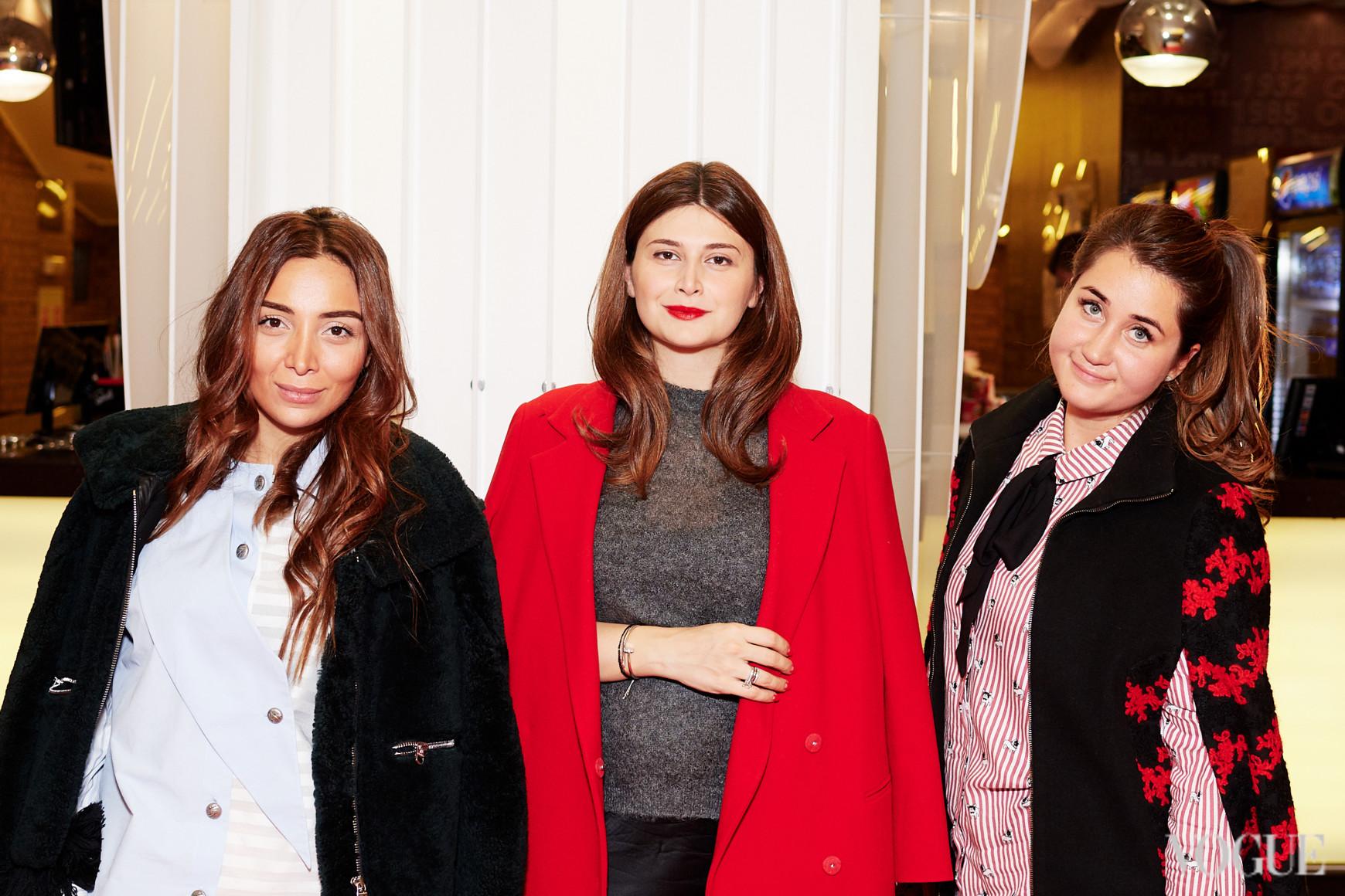 Нина Васадзе с подругами