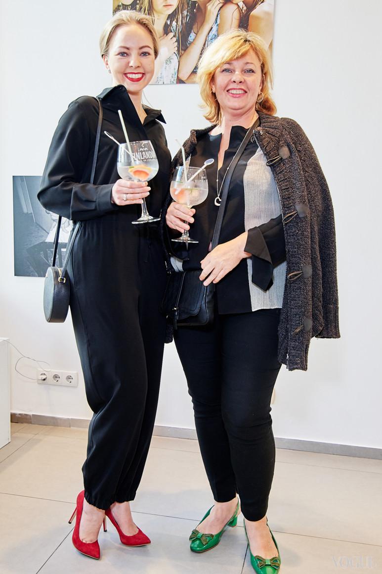 Наталья Лавринович и Ирина Малашенко