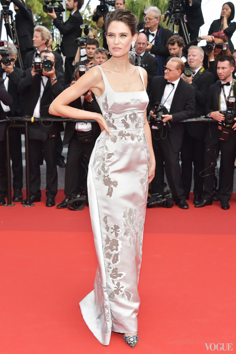 Бьянка Балти в Dolce & Gabbana Alta Moda