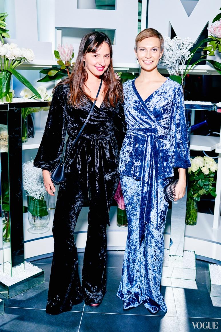 Виолетта Федорова и Маша Цуканова