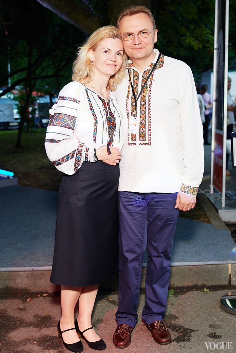 Катерина и Андрей Садовые