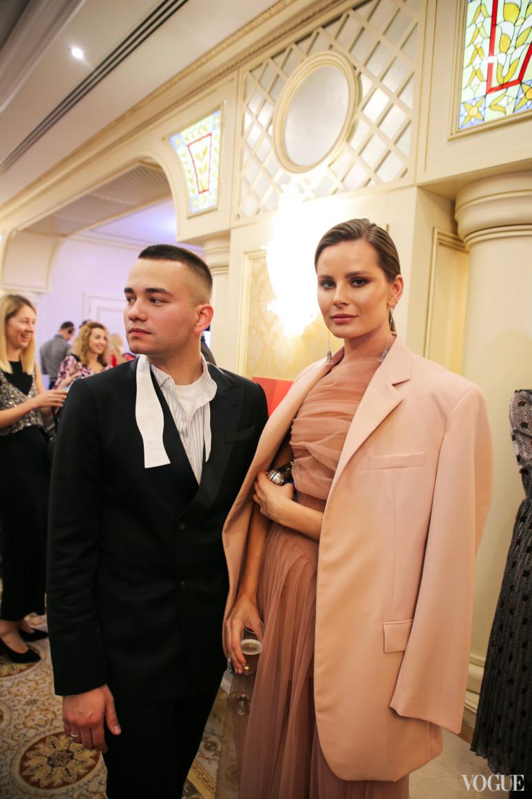 Иван Фролов и Александра Олейник