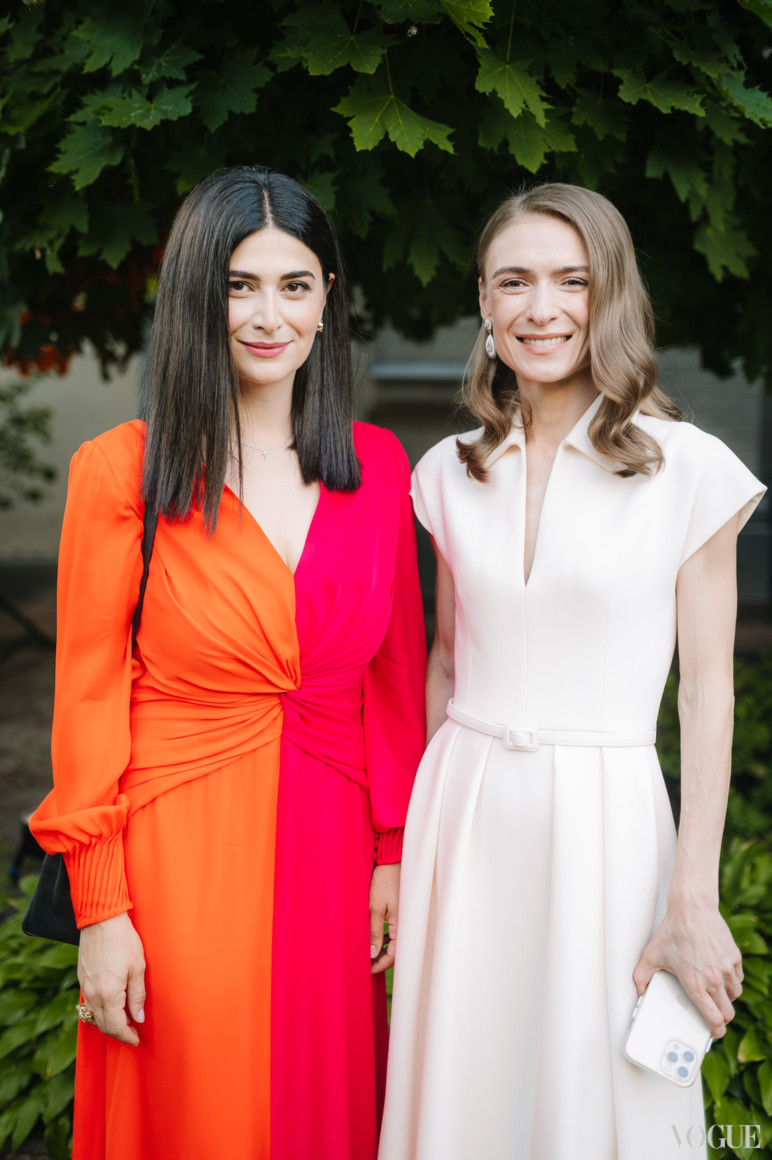 Нина Васадзе и Анастасия Цыбуляк