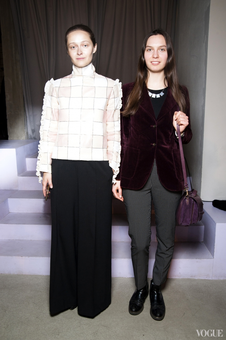 Дарья Шаповалова и Наталья Моденова