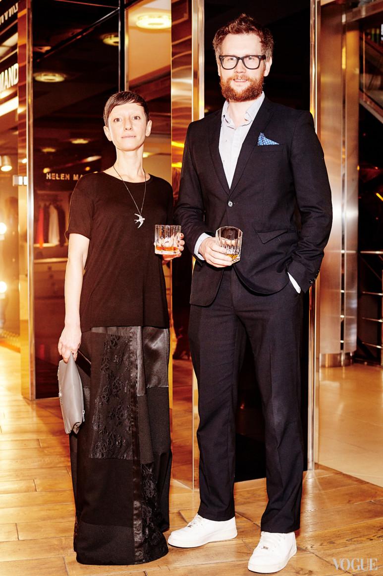 Анна Санден и Юрий Марченко