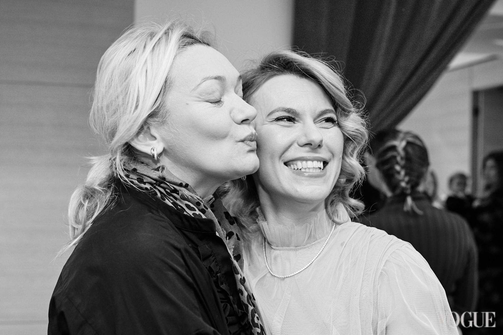 Ирина Ковальчук и Наталья Листопад