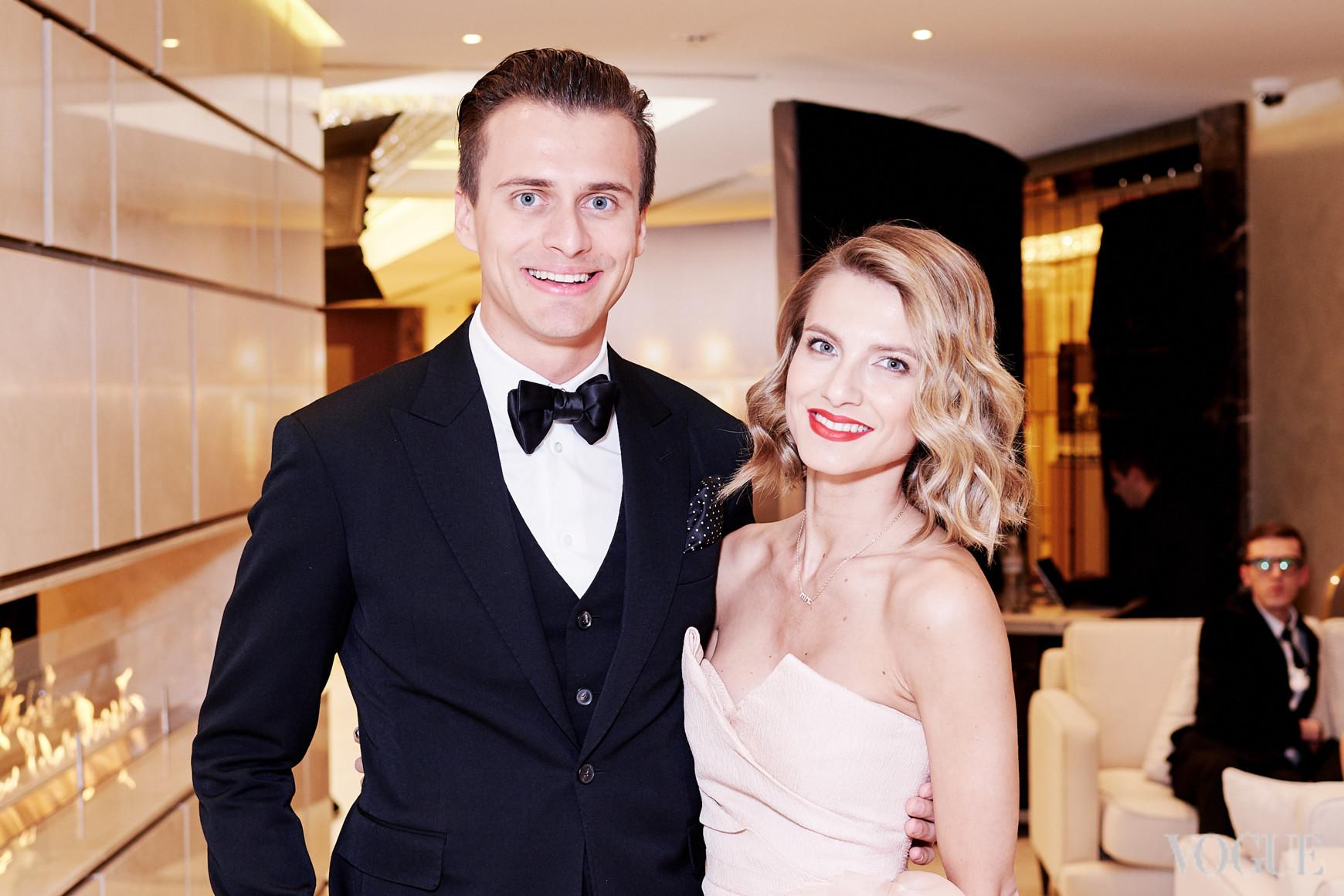 Александр Скичко и Елизавета Юрушева
