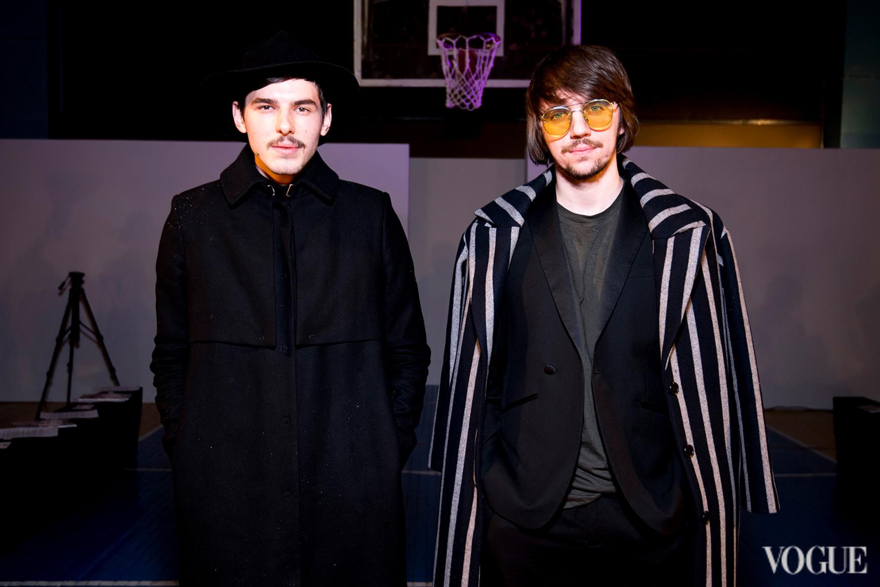 Петр Ясинский и Руслан Багинский