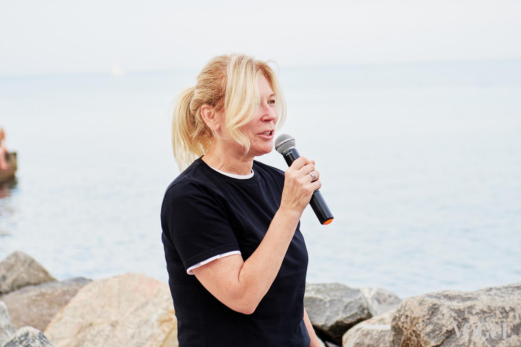 Глава жюри, дизайнер Лилия Пустовит
