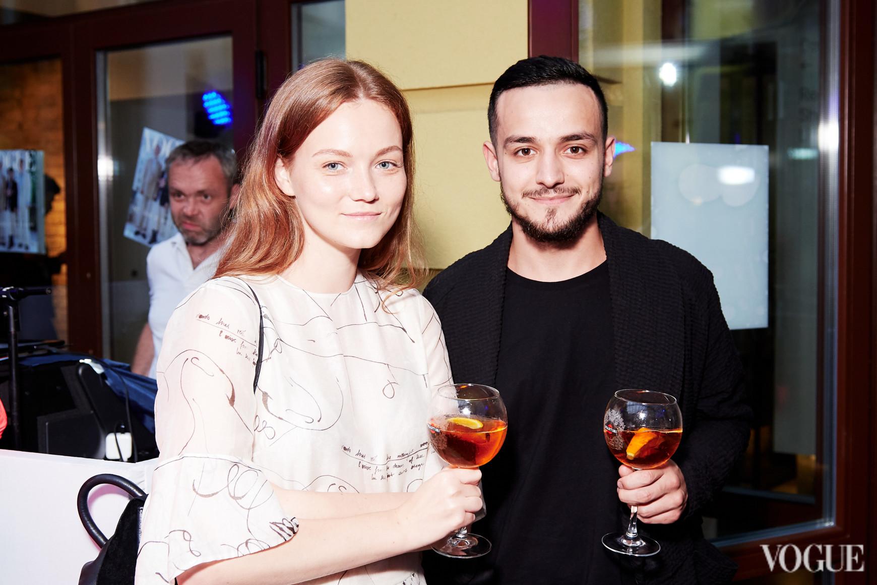 Ольга Шаповалова и Али Саулиди