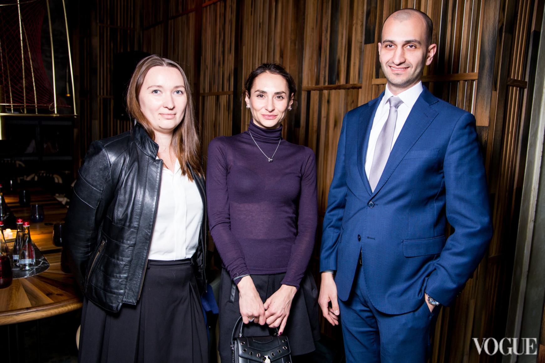 Тамара Лелеко, Александра Ходус и Али Вехби