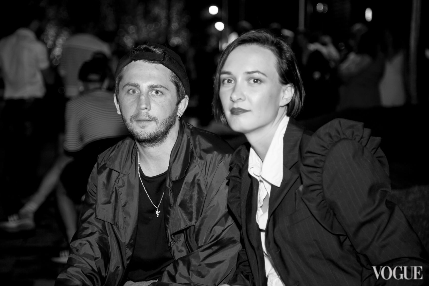 Антон Белинский и Ольга Сушко
