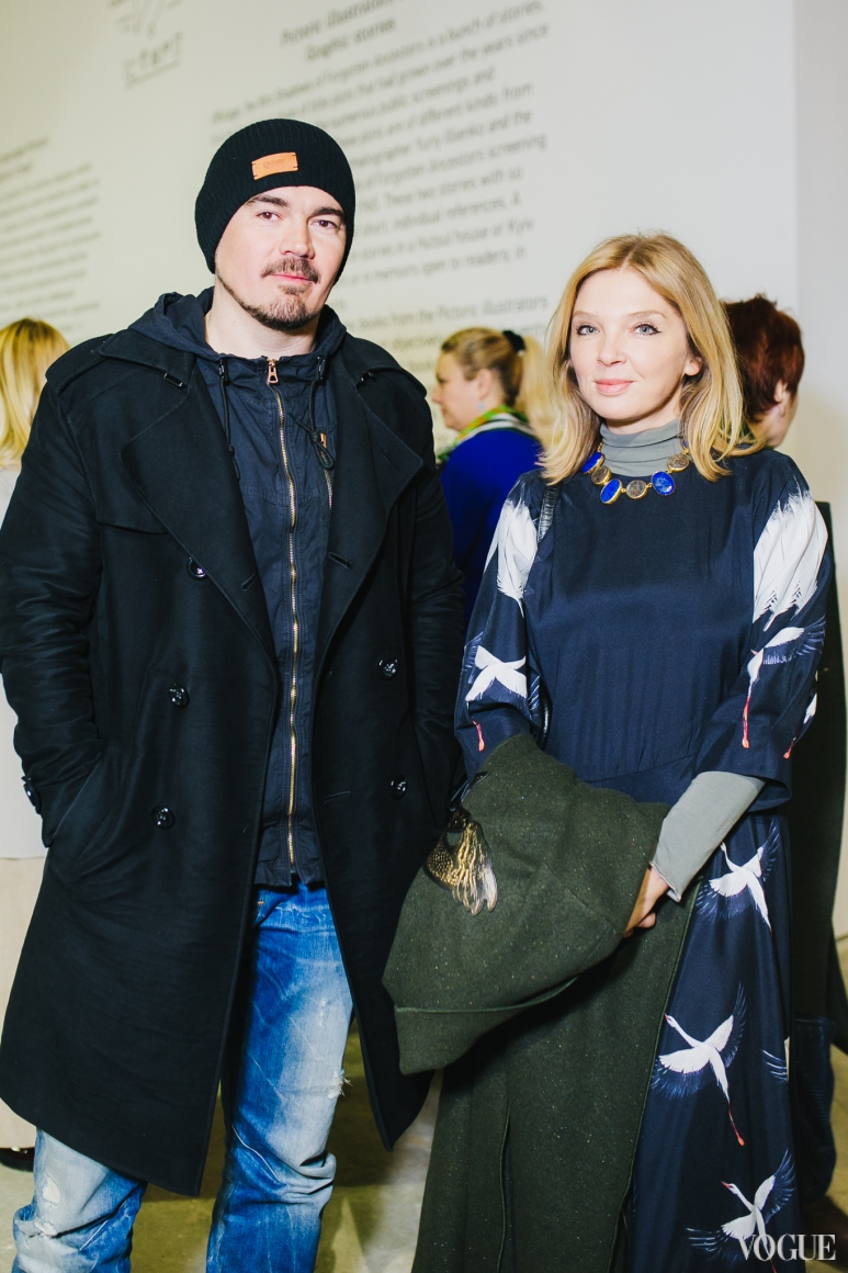 Ольга Навроцкая и Олег Михайлюта