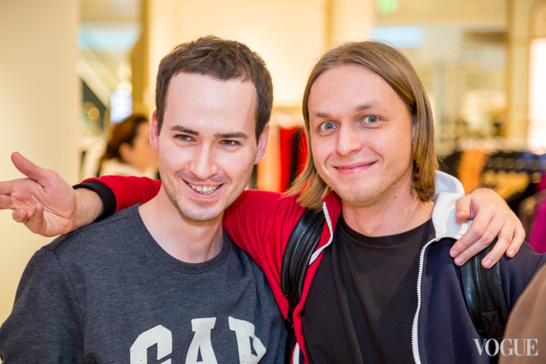 Евгений Примаченко (справа)