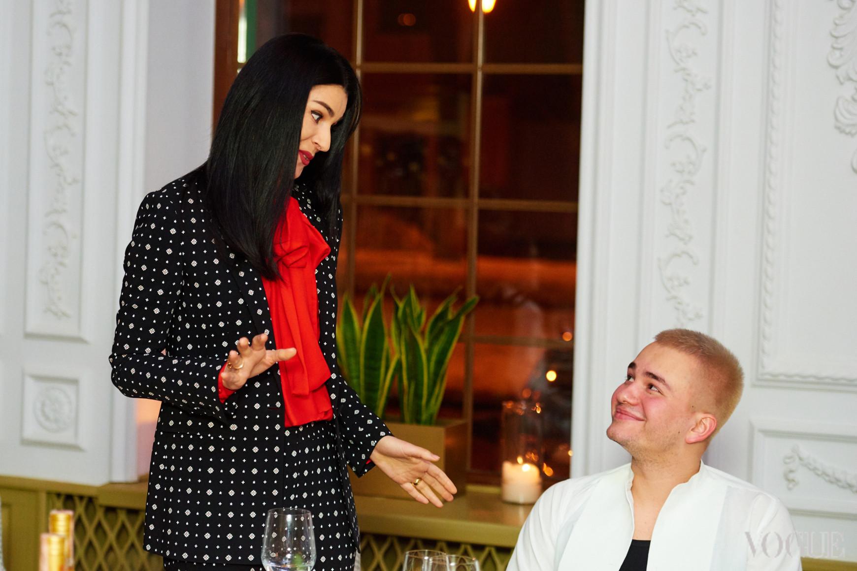 Маша Ефросинина и Иван Фролов