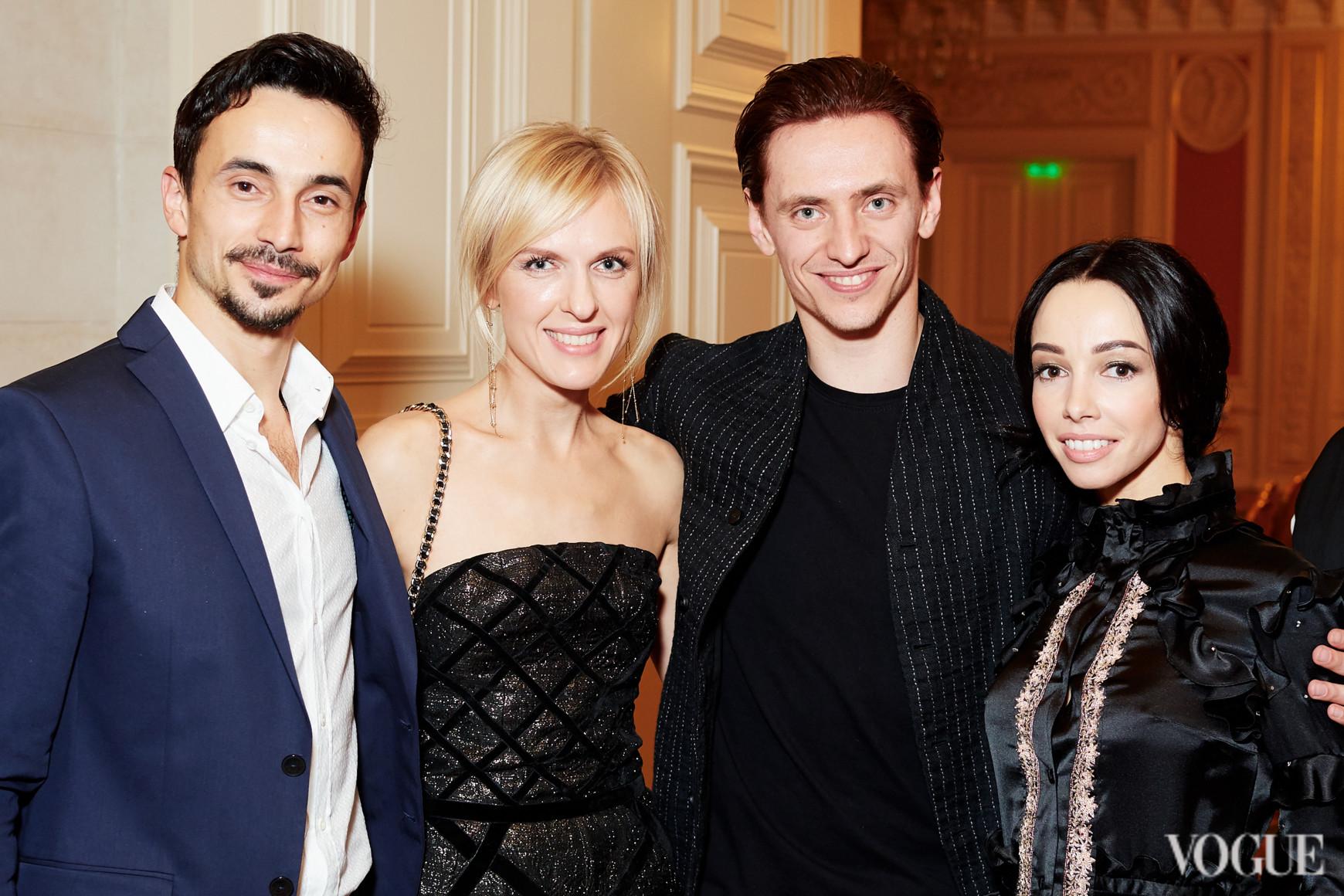 Александр Стоянов, Юлия Костецкая, Сергей Полунин и Катерина Кухар
