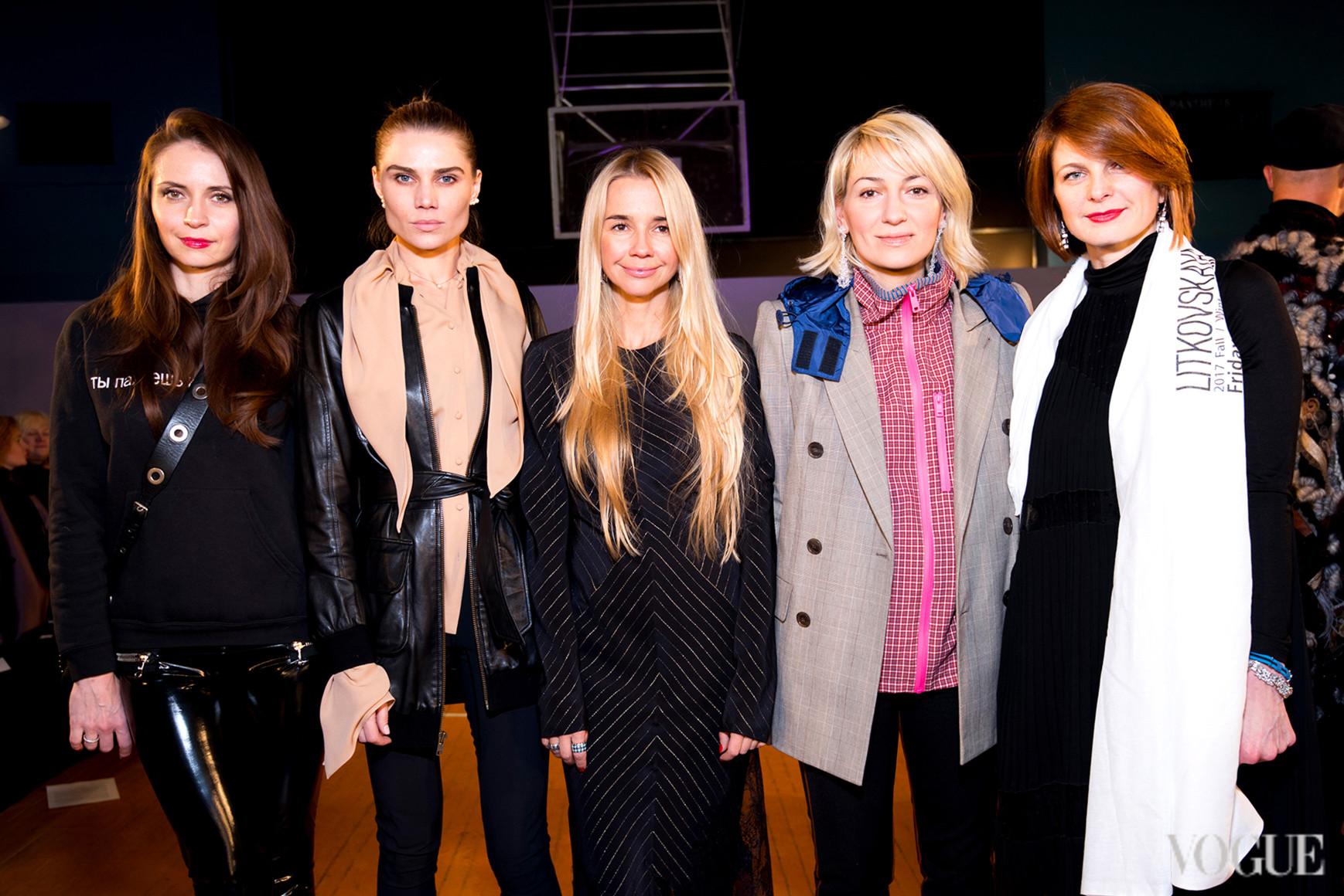 Юлия Богдан, Ирина Турбаевская, Ася Мхитарян и Катя Кулик