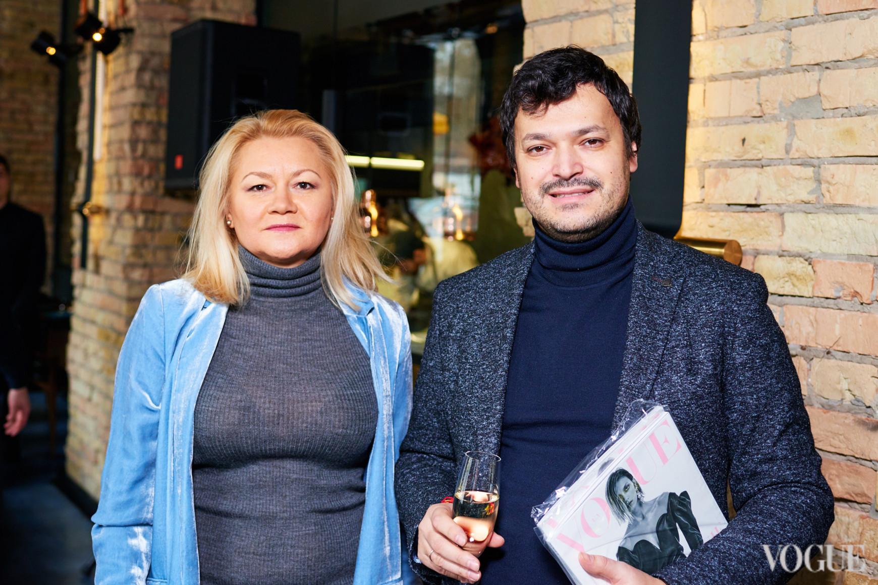 Ксения Щавинская и Андрей Ваганов-Дашков