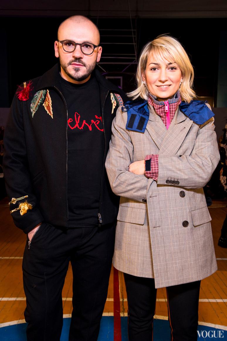 Дмитрий Евенко и Ася Мхитарян