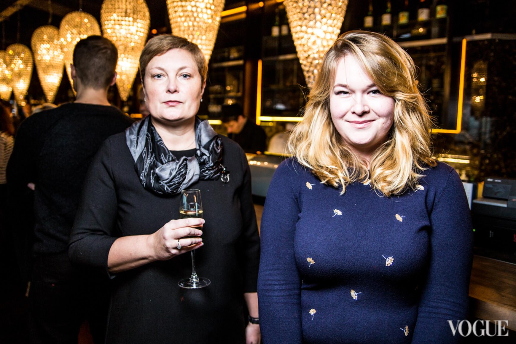 Валерия Лысюк и Ольга Стржельская