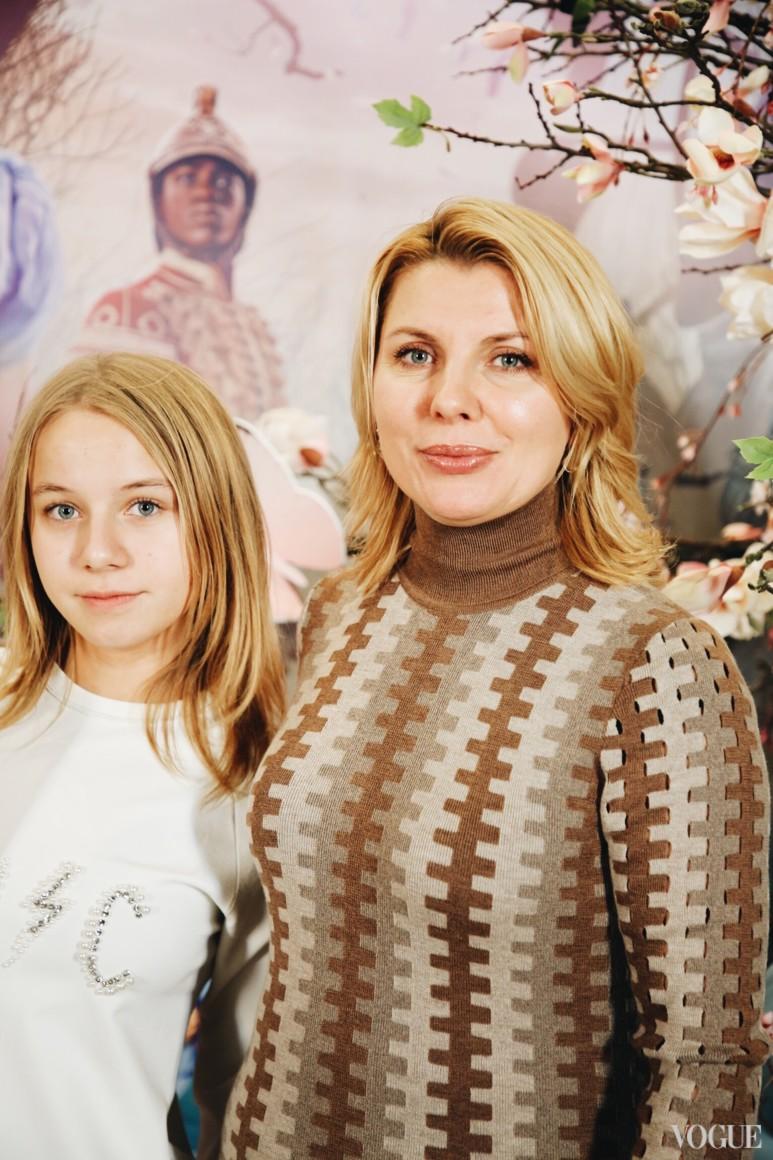 Світлана Тимохова з донькою