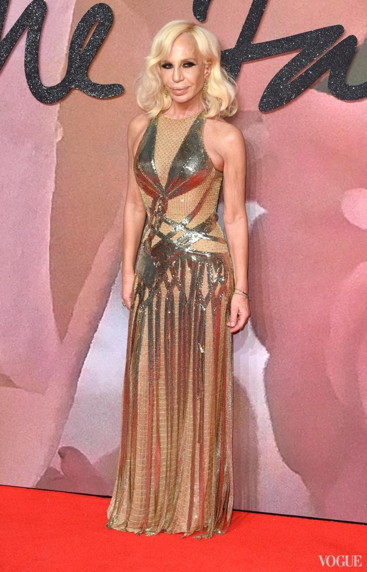 Донателла Версаче в Versace