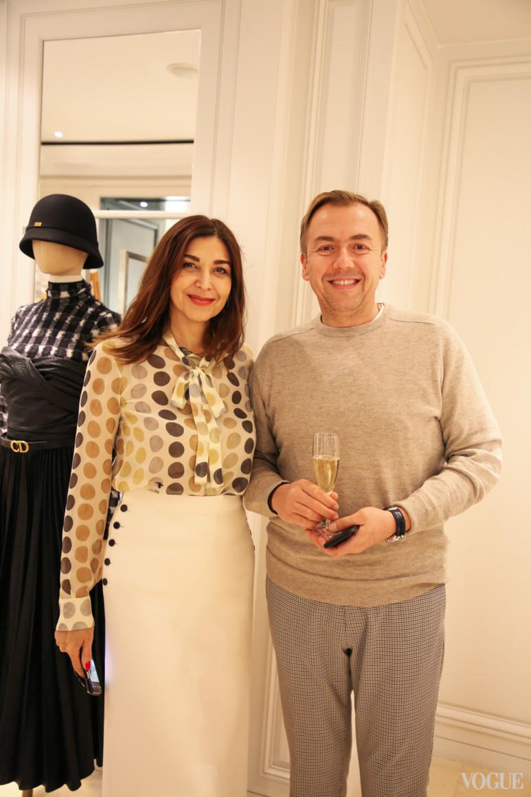 Ольга Дашкієва і Сергій Желнов