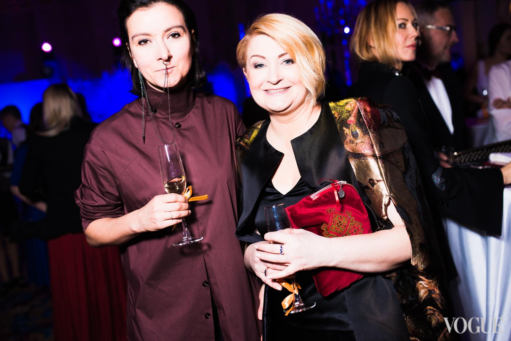 Елена Буренина и Ирина Данилевская