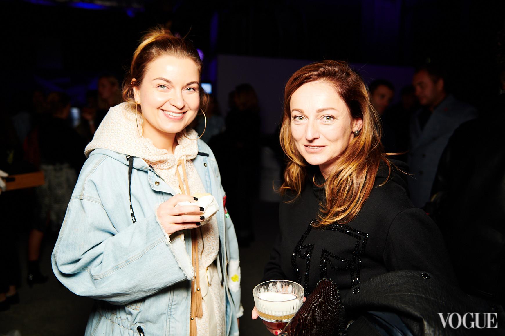 Елена Добрынская и Татьяна Деменкова