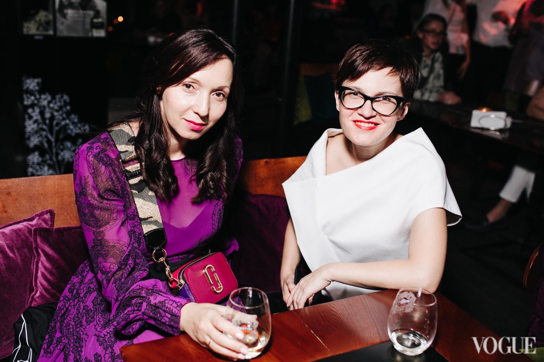 Ольга Пында и Елена Дружинина