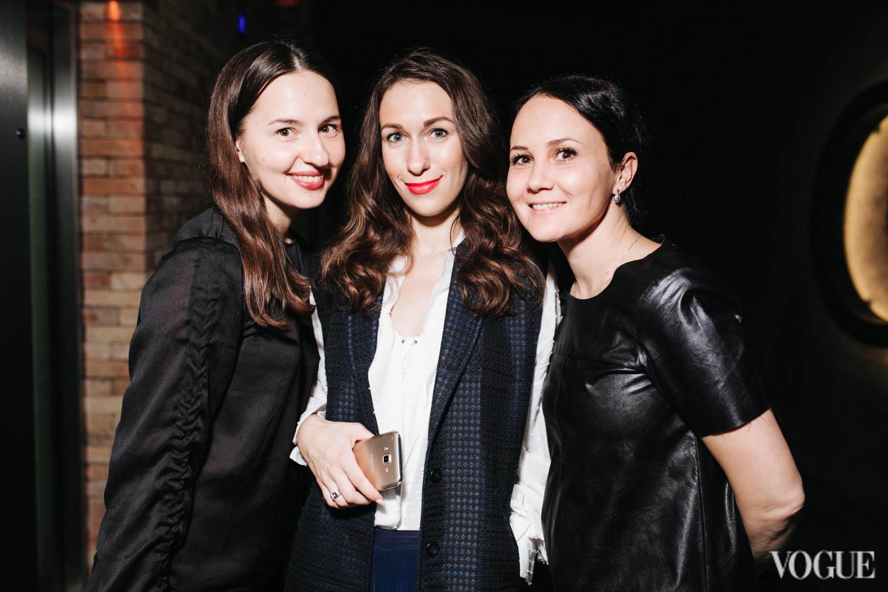 Виолетта Федорова, Дарья Слободяник и Анастасия Яворская