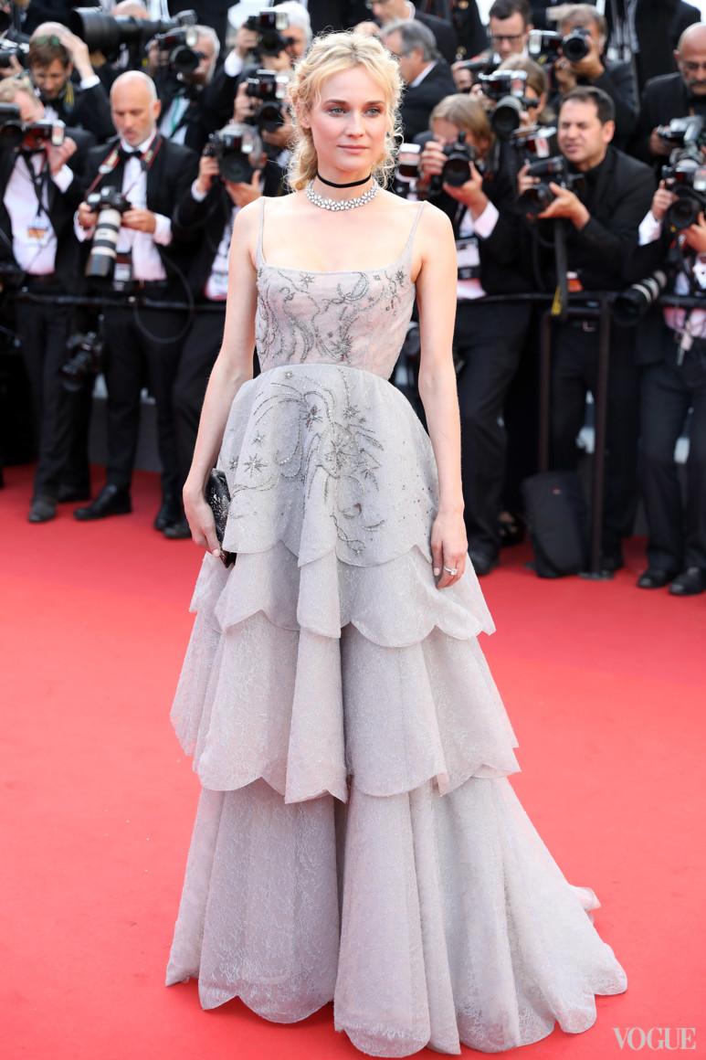 Диана Крюгер в Christian Dior