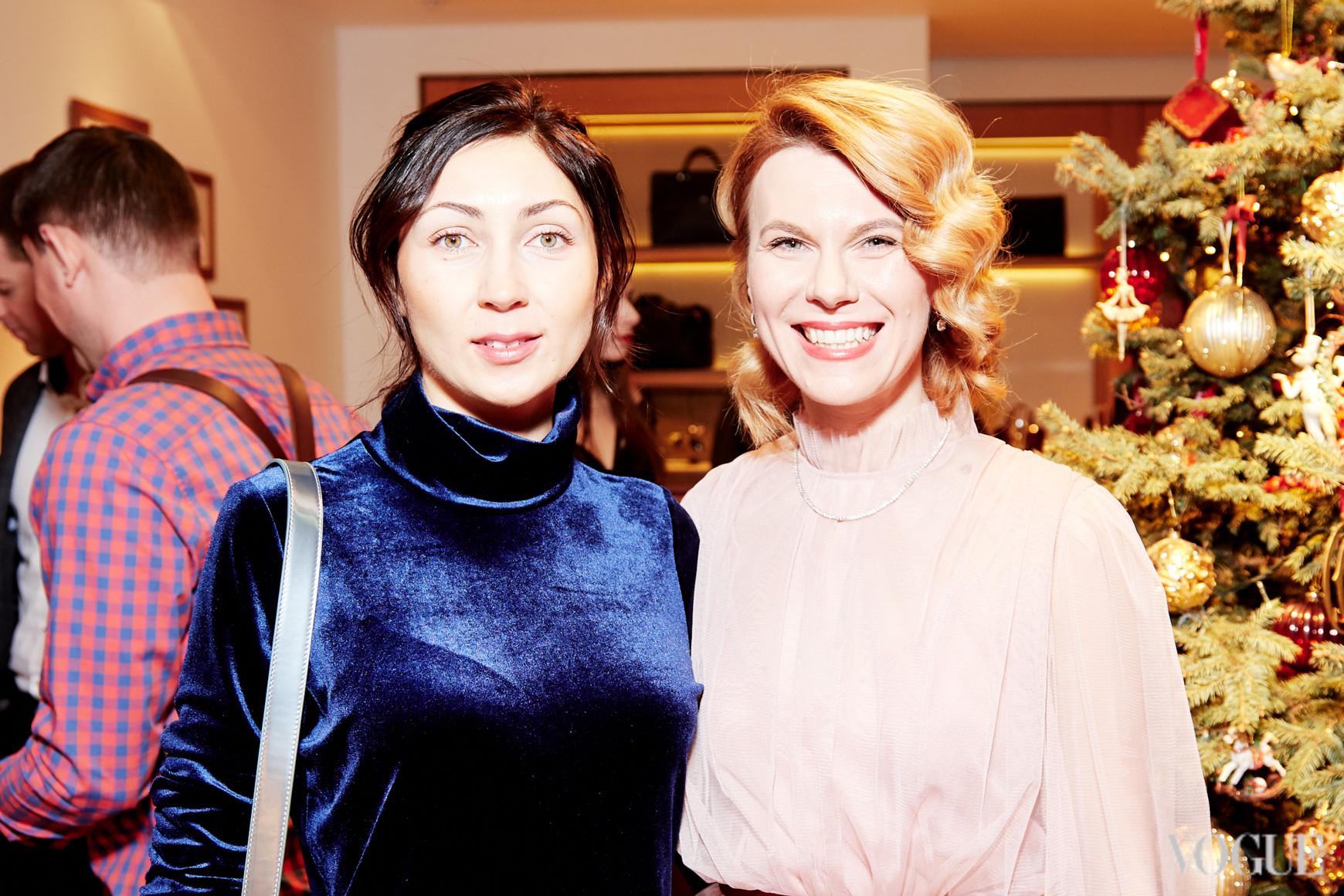 Диана Казакова и Наталья Листопад