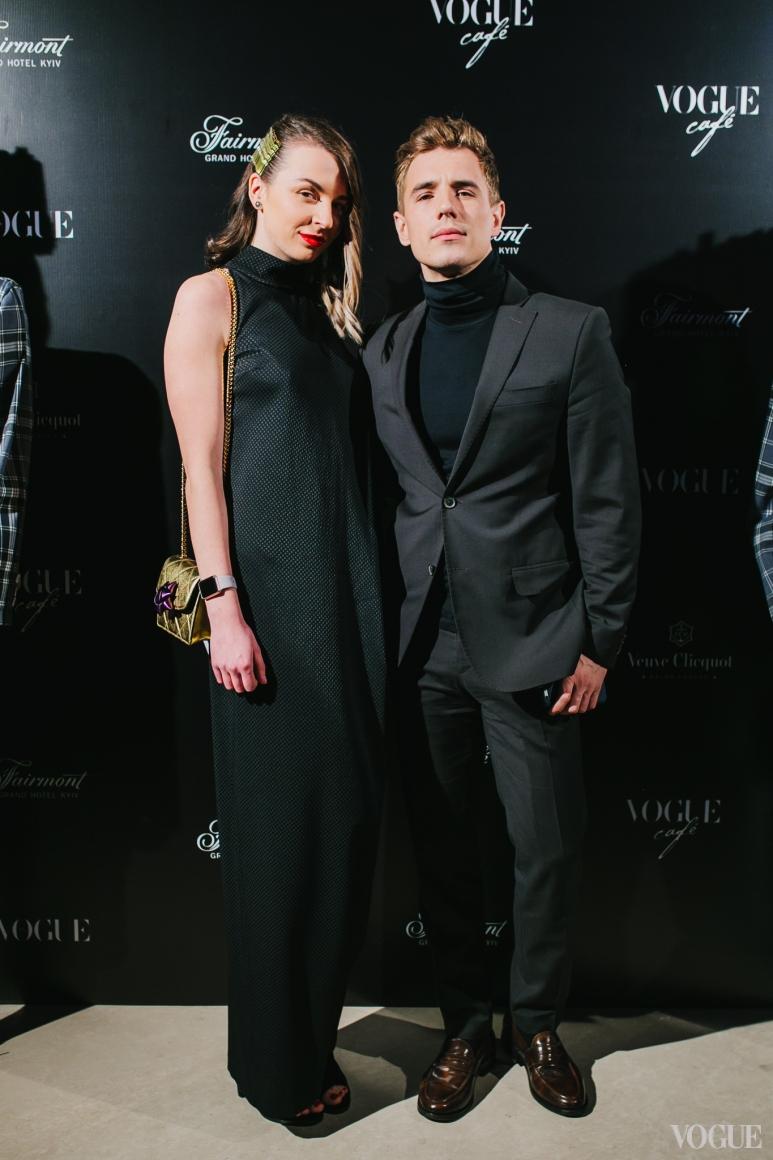 Анна Браженко и Вадим Олейник