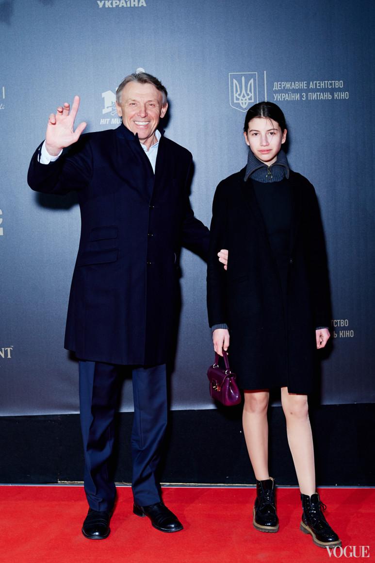 Сергей Полховский с дочерью