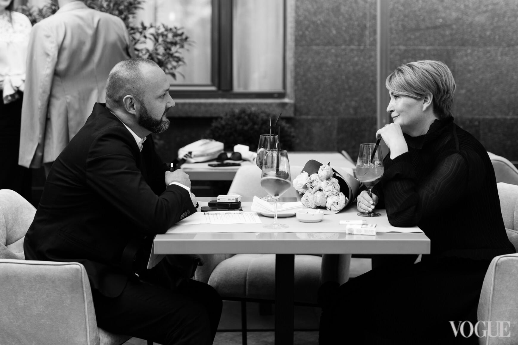 Константин Путиленко и Ирина Данилевская