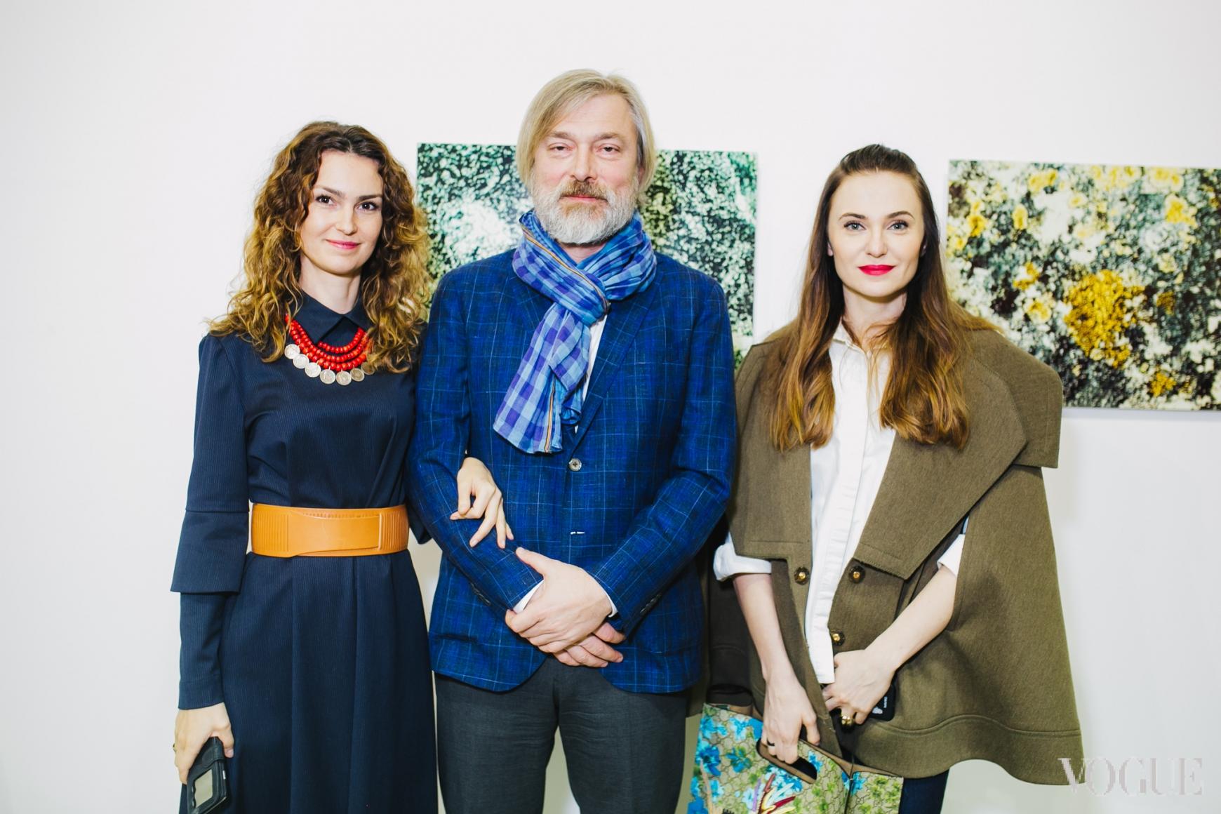 Ирина Костюк, Сергей Созановский и Ольга Слонь