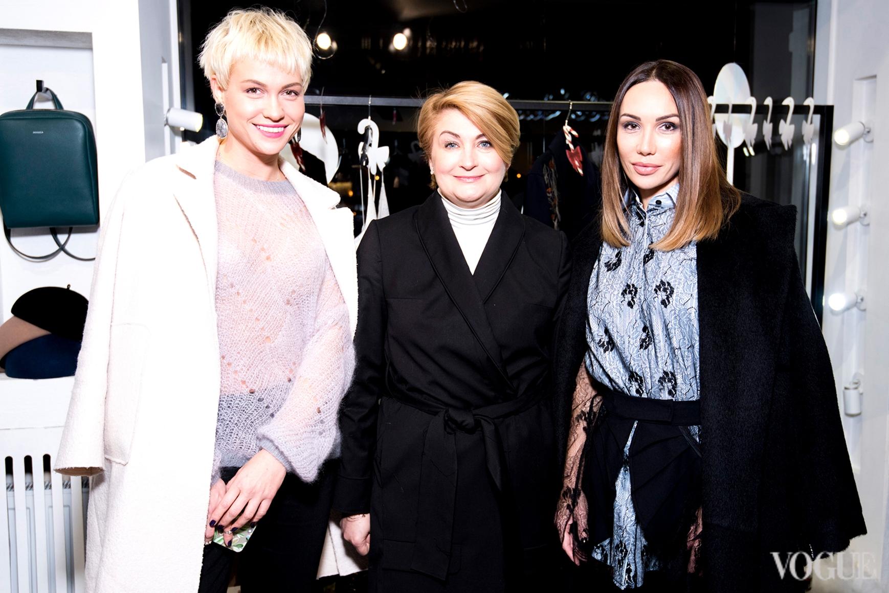 Анна Лукашевич, Ирина Данилевская и Наталья Бровди