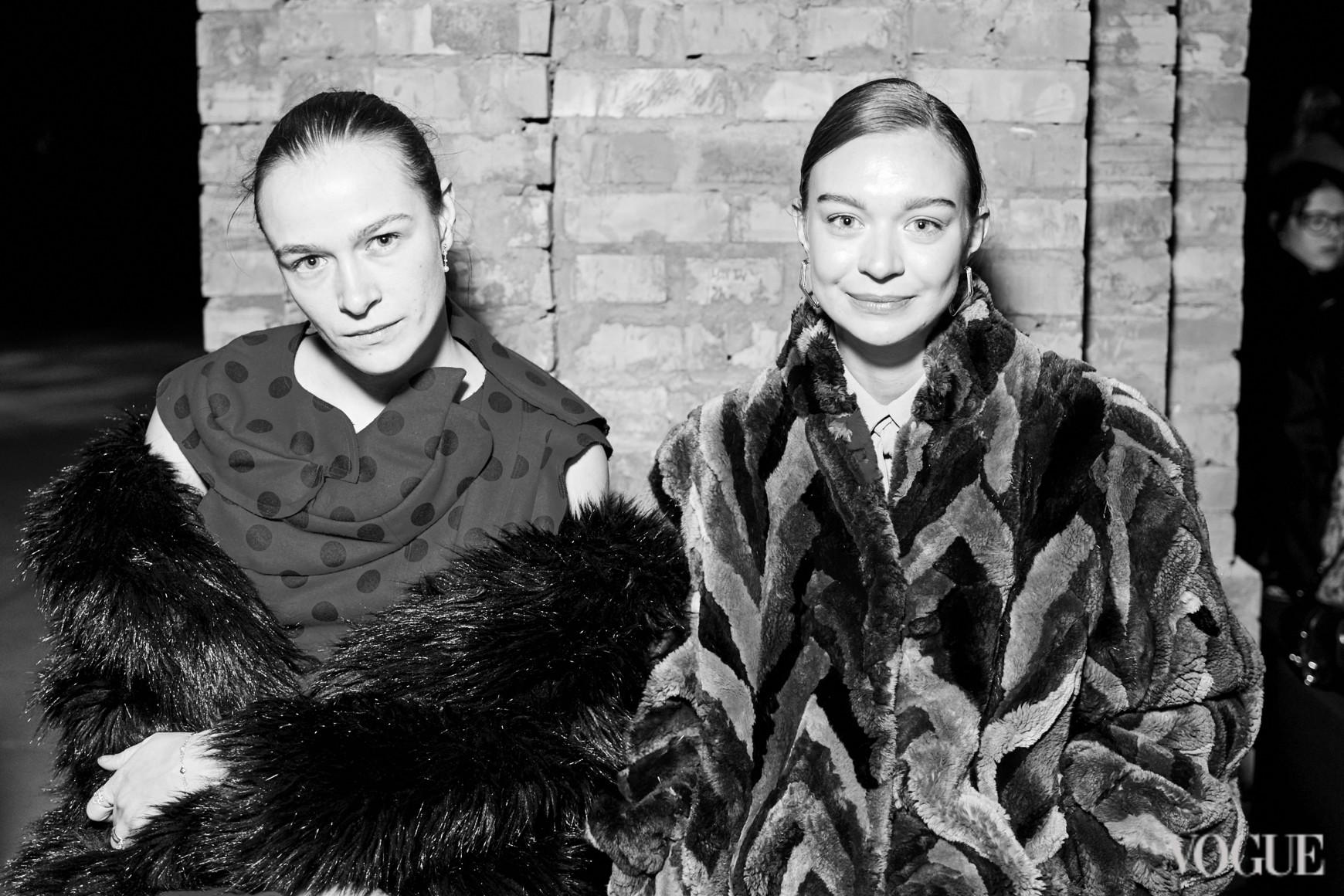 Надя Шаповал и Анна Зосимова