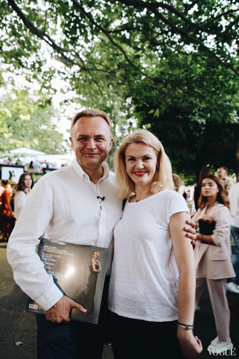 Андрей Садовой и Екатерина Кит-Садова