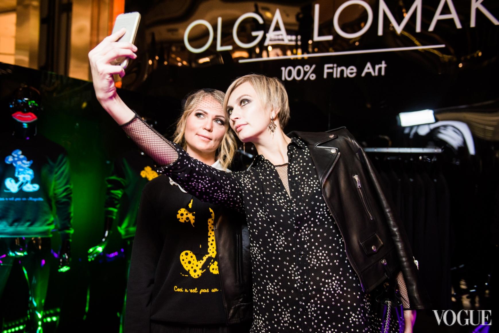 Ольга Ломака и Маша Цуканова