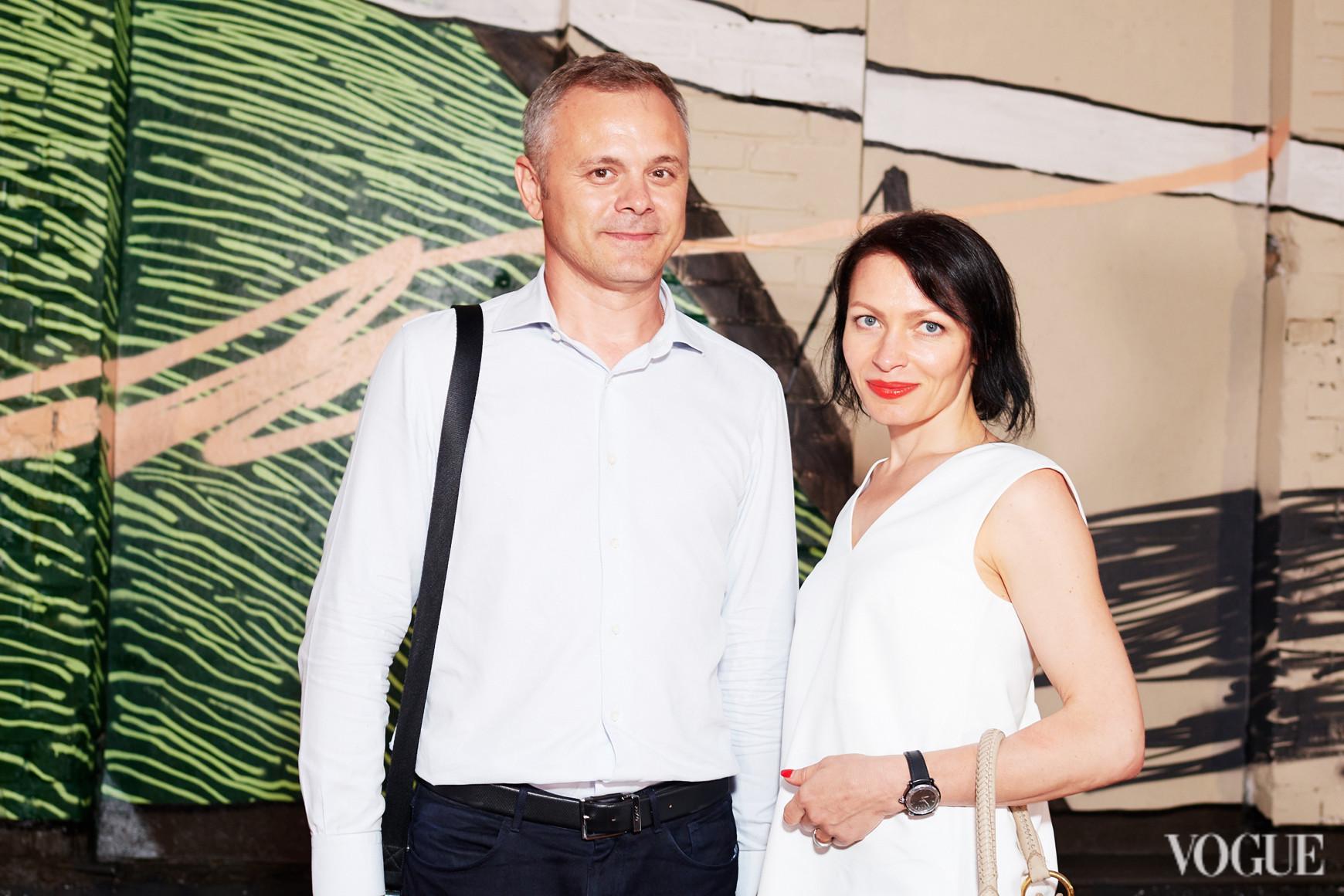 Лариса Лучка с мужем