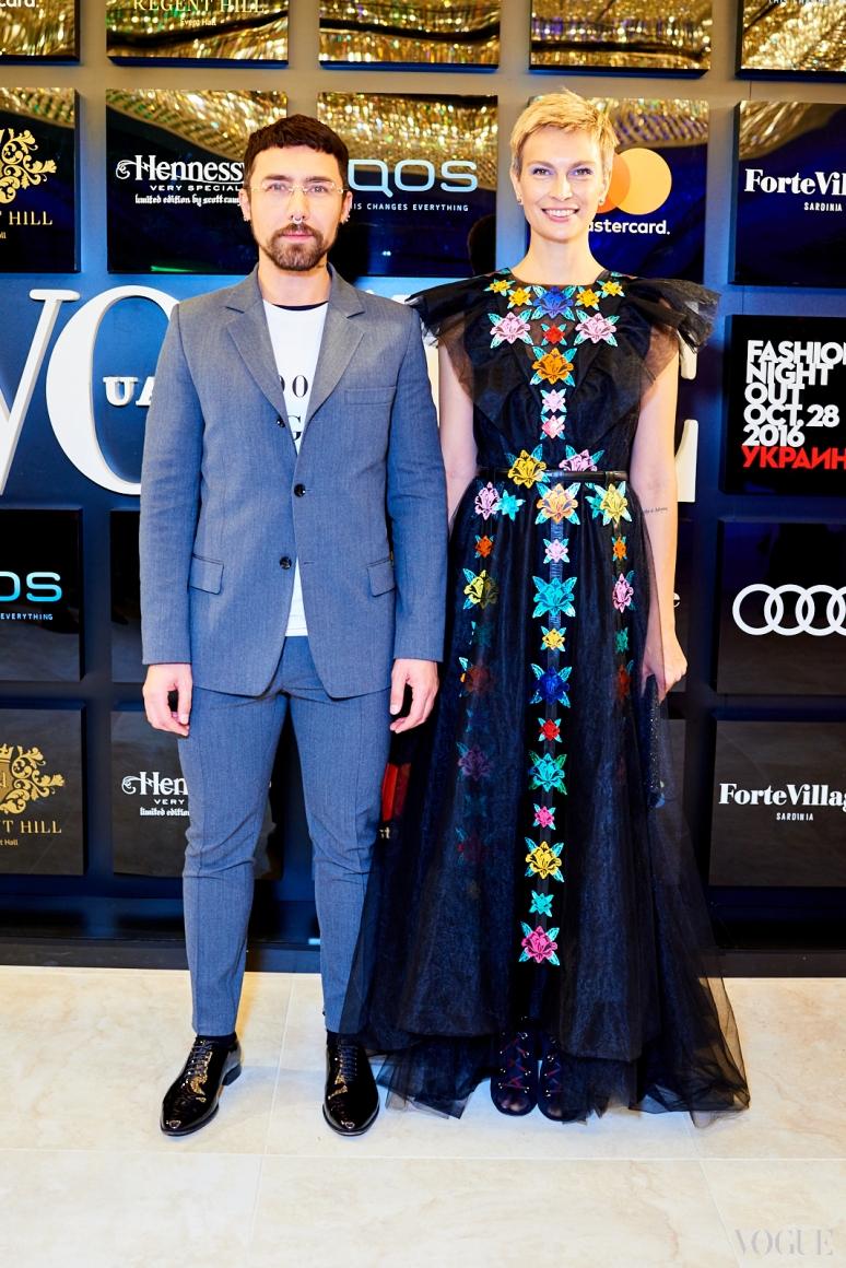 Тео Декан и Маша Цуканова