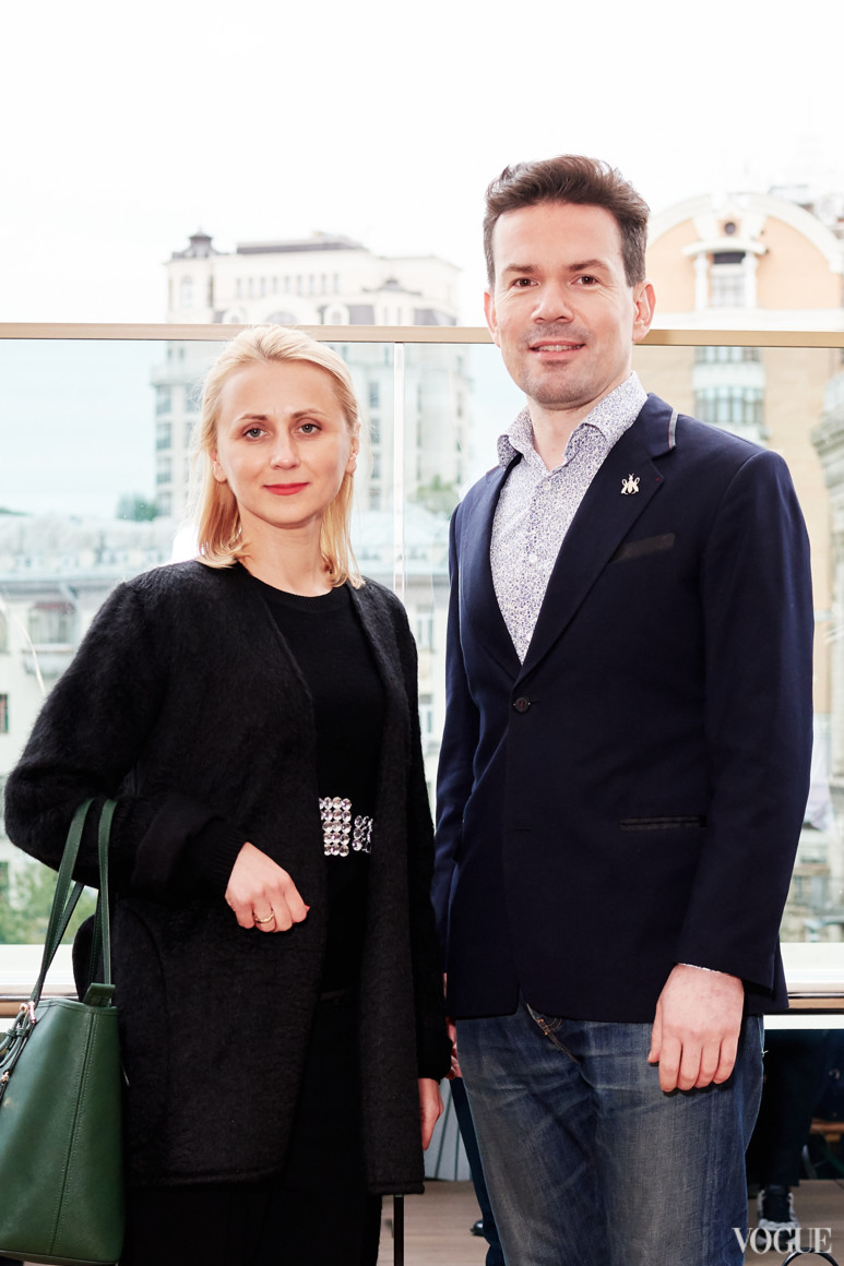Стелла Ракутубе и Алексей Кравинский