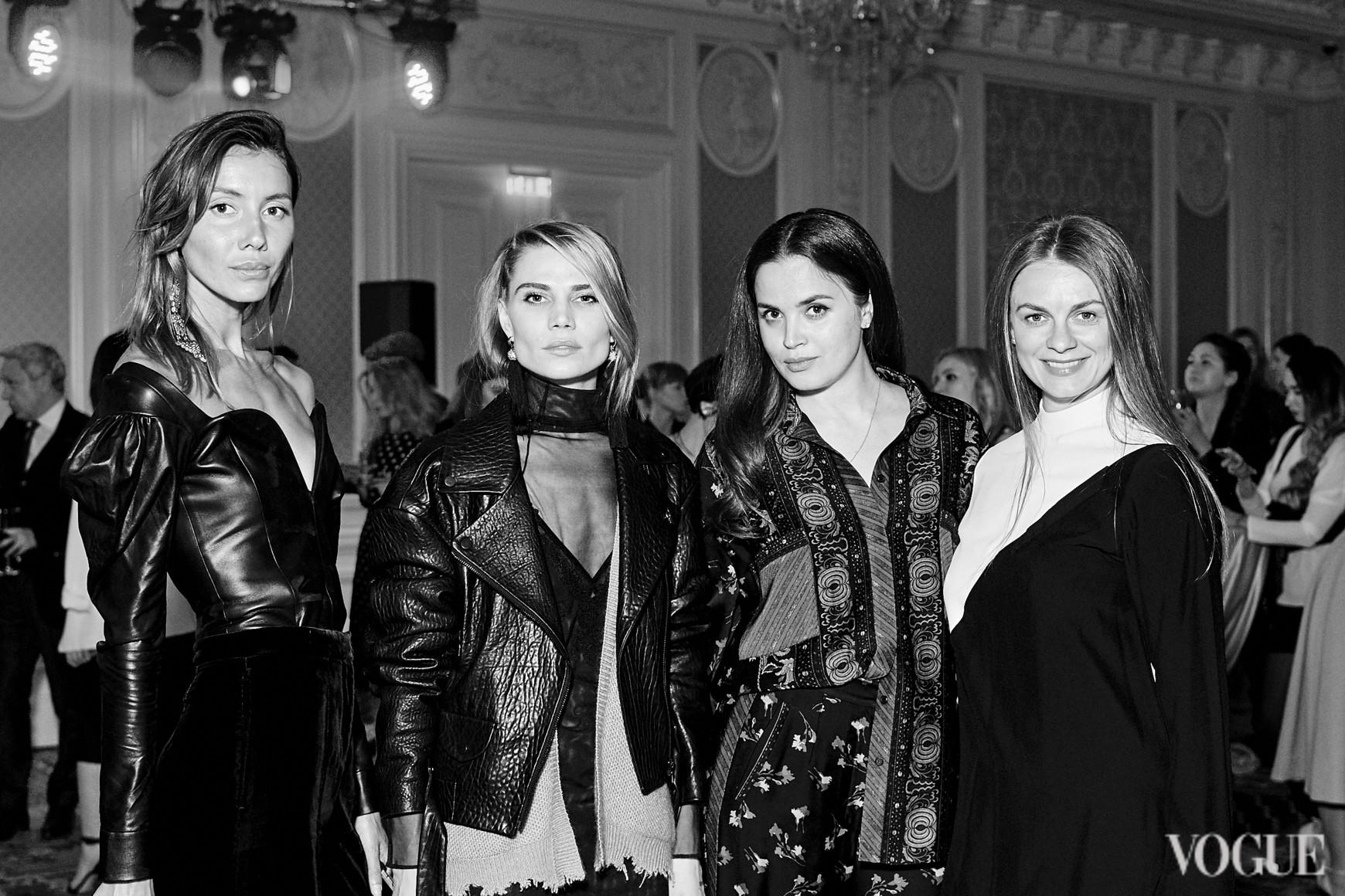 Юлия Пелипас, Юлия Богдан, Евгения Тимошенко и Юлия Криницкая
